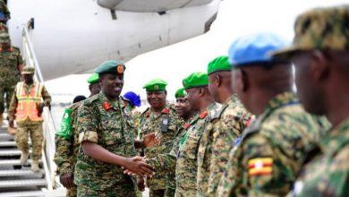 Photo of AMISOM Troops Return From Somalia