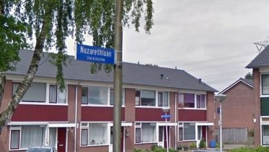 Photo of Dutch city to keep street signs identifying Israeli cities as being in Palestine