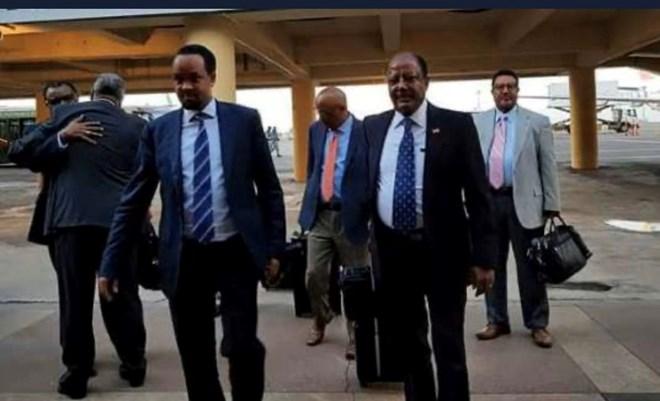 Photo of Ethiopian delegation lands in Hargeisa as Abiy Ahmed seeks lead role in Somalia-Somaliland talks