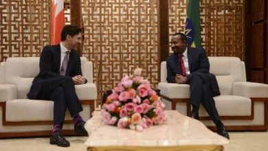 Photo of Trudeau arrives in Ethiopia for official visit, to attend A.U. Summit