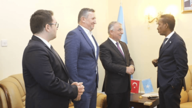 Photo of Somalia's Foreign Minister Meets With Turkish Ambassador