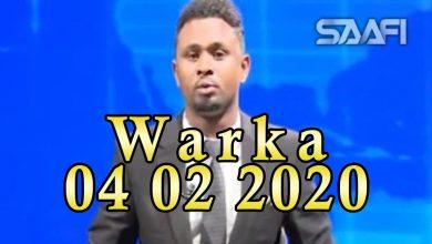 Photo of WARKA 04 02 2020 Dowlada Soomaaliya oo garoonka Aadan Cadde dadka kasoo dega bilowday in ay ka baarto Coronavirus