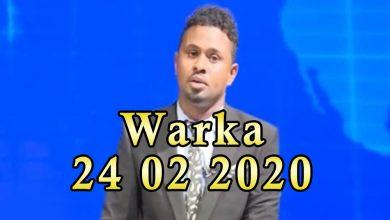 Photo of WARKA 24 02 2020 Mareykanka oo sheegay in saldhigyo Al shabaab ay leeyihiin duqeeyey