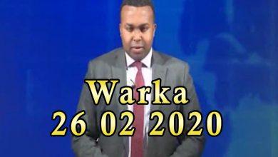 WARKA 26 02 2020 Munaasibada bandhiga gawaarida oo in mudo ah ka dib lagu qabtay magaalada Muqdisho