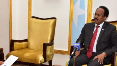 Photo of President Farmaajo's Addis Ababa Interview fully transcribed, 1 with critical commentary (Part 1)