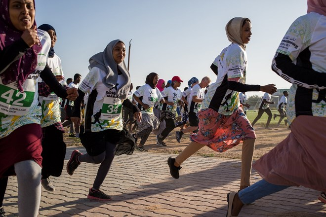 Photo of 'I Feel Strong and Free': Running Takes Hold Among Women in Somaliland
