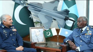 Photo of PAF chief, Somali Air Force commander discuss bilateral ties