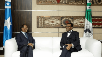 Photo of Somali Finance Minister Meets With African Development Bank Head