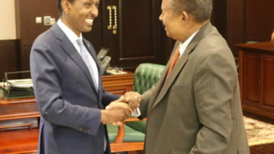 Photo of Somalia's FM Holds Meeting With Sudanese PM In Khartoum