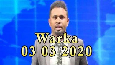 Photo of WARKA 03 03 2020 Safaarada Mareykanka ee Soomaaliya oo war kasoo saartay dagaalkii Beledxaawo