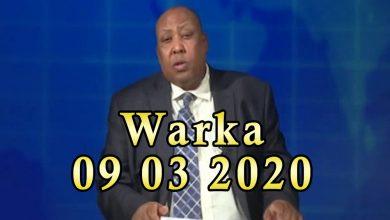 Photo of WARKA 09 03 2020 Soomaaliland oo heshiis oo midowga yurub la saxiixatay heshiis lacag badan ku baxeyso