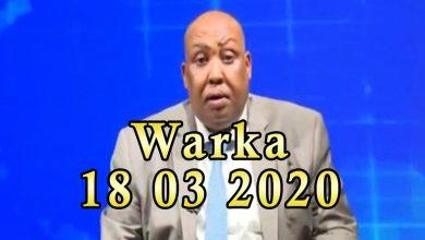 Photo of WARKA 18 03 2020 Qaar ka mid ah shacabka magaalada Muqdisho oo sanka wada xirtay ayaga oo ka baqaya Corona Virus