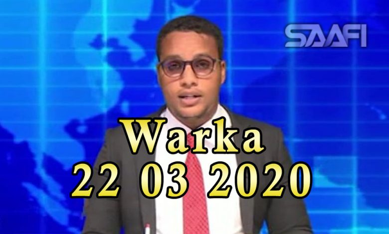 Photo of WARKA 22 03 2020 Xildhibaandii mucaaradka ku ahaa dowlada Soomaaliya oo gaaray magaalada Dhuusomareeb