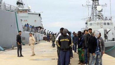 Photo of 236 illegal immigrants deported from eastern Libya