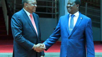 Photo of Plans to forge a Uhuru-Raila coalition rule