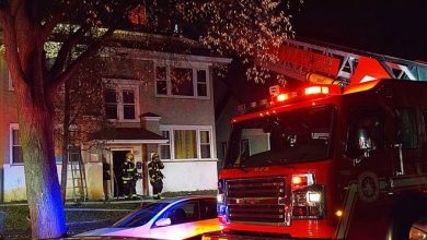 Photo of More than 30 flee early-morning fire in north Minneapolis fourplex