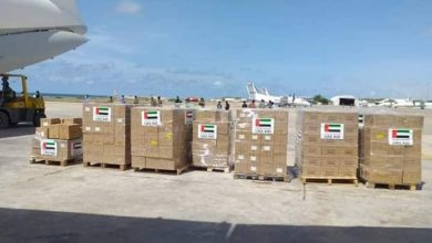 Photo of UAE Cargo Plane Carrying Medical Supplies Lands At Mogadishu Airport