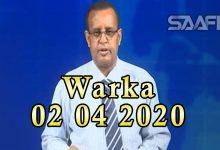 Photo of WARKA 02 04 2020 Dowlada Soomaaliya oo sheegtay in ay korortay dadka loo karantiilay cudurka Coronavirus