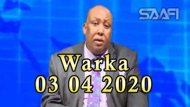 Photo of WARKA 03 04 2020 Maamulka degmada Afgooye oo sheegay in loo soo qabtay 18 qofkiiska gabdhihii sakhiirada ahaa ee la farxumeeyey