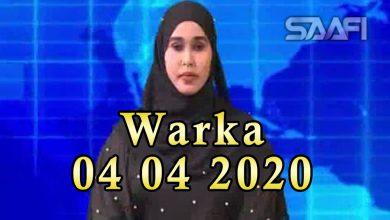 Photo of WARKA 04 04 2020 Qarax masuuliyiin ka tirsan Hishabeele ay ku waxyeeloobeen oo Jawhar ka dhacay