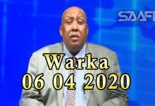 Photo of WARKA 06 04 2020 Madaxweynihii hore Galmudug oo Dhuusomareeb gaaray ayaa sheegay in uu tanaasulay
