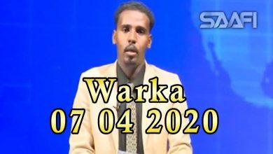 Photo of WARKA 07 04 2020 Dowlada Soomaaliya oo shaacisay in uu soo gaaray sheybaarkii lagu baari lahaa cudurka Coronavirus