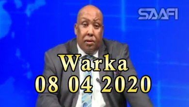 Photo of WARKA 08 04 2020 Qaar ka mid ah shacabkii ka baracay degmada Wanlaweyn oo dib u soo laabtay