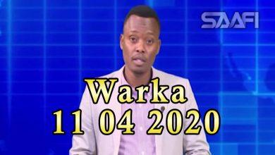 Photo of WARKA 11 04 2020 Dowlada Soomaaliya oo baaq kasoo saartay muran ka dhashay xirida masaajida magaalada Muqdisho