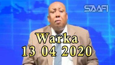 Photo of WARKA 13 04 2020 Gudiga xuquuqul insaanka baarlamaanka oo sheegayn in ansixinta sharciga kufsiga laga hortaagan yahay