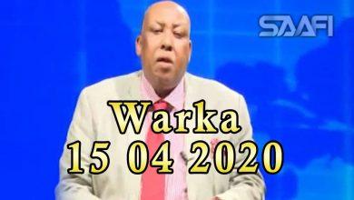 Photo of WARKA 15 04 2020 Dowlada Soomaaliya iyo culimada oo isla gaaray qaabka masaajida dadka ay ugu dukan karaan