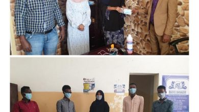 Photo of 283 Journalists And Other Media Workers Receive Face Masks For Their Protection From COVID19