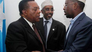 Photo of Augustine Mahiga, former UN SRSG for Somalia, passes away