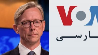 Photo of US adviser accuses VOA of being 'voice of Iran'