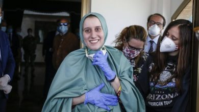 Photo of Freed Italian Aid Worker Returns Home On Special Flight