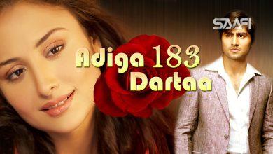 Photo of Adiga Dartaa Part 183 Musalsal Hindi Af Soomaali