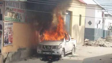 Photo of Two Killed In Mogadishu Car Bomb Blast
