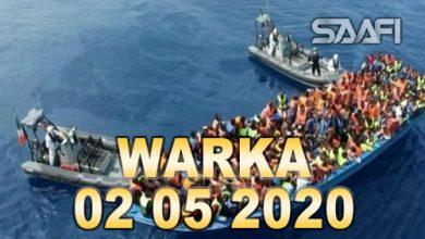 Photo of WARKA 02 05 2020 Soomaali iyo dad kale oo taahriibayaal ah oo laga badbaadiyey xeebaha Greece iyo Turkey