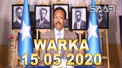 Photo of WARKA 15 05 2020 Madaxweyne Farmaajo oo si layaab leh u xusay maalinta dhalinyarada Soomaaliyeed SYL
