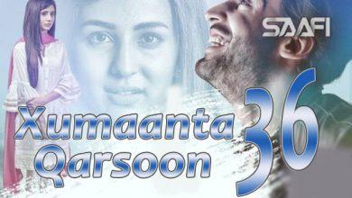 Photo of Xumaanta qarsoon Part 36