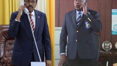 Photo of Farmajo, Uhuru Agree To Joint Probe On Plane Crash