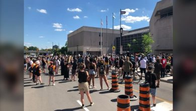 Photo of Marchers protest police violence, demand institutional change in Ottawa
