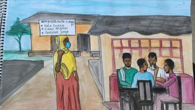 Photo of Somali artists use art to spread COVID-19 awareness