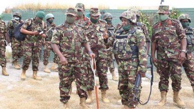 Photo of Kibochi visits KDF troops in Somalia
