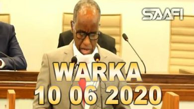 Photo of WARKA 10 06 2020 Sharciga asxaabta siyaasada oo la horgeeyey baarlamaanka aqalka hoose