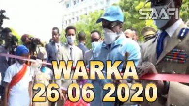 Photo of WARKA 26 06 2020 Madaxweyne Farmaajo oo xariga ka jaray xarumo badan oo danta guud ah