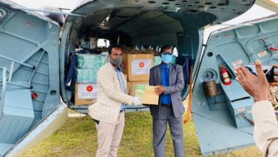 Photo of Somali Govt Airlifts Medical Supplies To Covid-19-Hit Towns