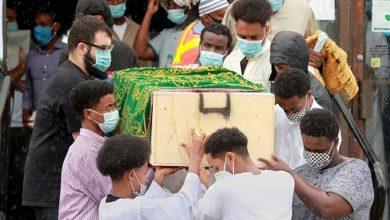 Photo of Hundreds gather to mourn slain Mohamed Hassan