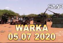 Photo of WARKA 05 07 2020 Maamulka Galmudug oo lagu wareejiyey ciidamo iyo gaadiid dagaal