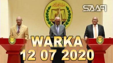 Photo of WARKA 12 07 2020 Xisbiyada muacaaradka Soomaaliland iyo xukuumada oo heshiis dhaxal gal ah wada saxiixday