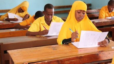 Photo of The Grade 8 Schools Students Sit For National Exam In Somalia